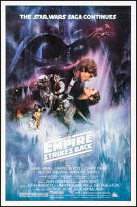 "The Empire Strikes Back (20th Century Fox, 1980). Rolled, Near Mint. One Sheet (27"" X 41"") Studio Version Styl..."