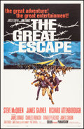 "Movie Posters:War, The Great Escape (United Artists, 1963). Very Fine- on Linen. One Sheet (27"" X 41""). Frank McCarthy Artwork. War.. ..."