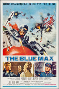 """The Blue Max & Other Lot (20th Century Fox, 1966) Folded, Very Fine-. One Sheets (2) (27"""" X 41""""). Frank Mc..."""