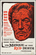 "Movie Posters:Horror, The Masque of the Red Death (American International, 1964). Folded, Fine/Very Fine. One Sheet (27"" X 41""). Reynold Brown Art..."