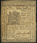 Colonial Notes:Delaware, Delaware May 1, 1777 20s About New.. ...