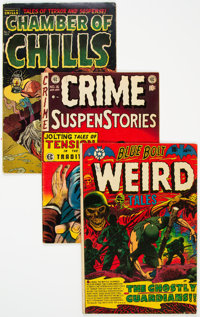 Golden Age Horror Group of 3 (Various Publishers, 1952-53) Condition: Average VG.... (Total: 3 )