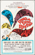 """Movie Posters:Rock and Roll, Ring-A-Ding Rhythm (Columbia, 1962) Very Fine on Linen. One Sheet (27"""" X 41""""). Rock and Roll.. ..."""