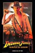 """Movie Posters:Adventure, Indiana Jones and the Temple of Doom (Paramount, 1984) Rolled, Very Fine/Near Mint. One Sheet (27"""" X 41"""") """"Trust Him"""" Style,..."""