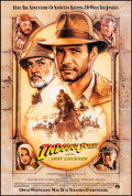 "Movie Posters:Action, Indiana Jones and the Last Crusade (Paramount, 1989) Rolled, Very Fine/Near Mint. One Sheet (27"" X 40""). SS, Advance, Drew S..."