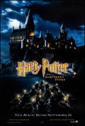 """Movie Posters:Fantasy, Harry Potter and the Sorcerer's Stone (Warner Brothers, 2001)Rolled, Near Mint. One Sheet (27"""" X 40"""") DS Advance. Fantasy...."""