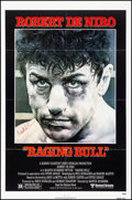 "Movie Posters:Drama, Raging Bull (United Artists, 1980). Folded, Very Fine. AutographedOne Sheet (27"" X 41""). Kunio Hagio Artwork. Drama.. ..."