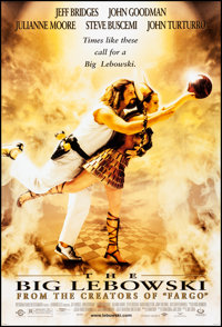"The Big Lebowski (Gramercy, 1998) Rolled, Near Mint. One Sheet (27"" X 40""). Comedy"