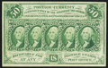 Fractional Currency:First Issue, Fr. 1312 50¢ First Issue Extremely Fine-About Uncirculated.. ...