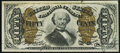 Fractional Currency:Third Issue, Fr. 1334 50¢ Third Issue Spinner Very Choice New.. ...