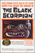 """Movie Posters:Science Fiction, The Black Scorpion (Warner Brothers, 1957). Folded, Very Fine-. OneSheet (27"""" X 41""""). Science Fiction.. ..."""