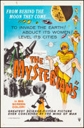 """Movie Posters:Science Fiction, The Mysterians (RKO, 1959). Folded, Fine/Very Fine. One Sheet (27""""X 41""""). Science Fiction.. ..."""