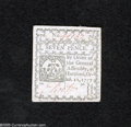 Colonial Notes:Connecticut, Connecticut October 11, 1777 7d Gem New....