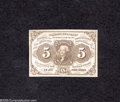 Fractional Currency:First Issue, Fr. 1230 5c First Issue Gem New....