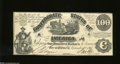 Confederate Notes:1861 Issues, CT13/58 $100 1861....