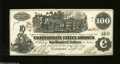 Confederate Notes:1862 Issues, CT39 $100 1862....