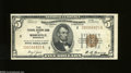 Fr. 1850-I $5 1929 Federal Reserve Bank Note. About New. A wonderful example of this very lightly circulated Minneapolis...