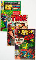 Silver Age (1956-1969):Superhero, Marvel Silver Age Comics Group of 5 (Marvel, 1960) Condition: Average VG-.... (Total: 5 Comic Books)