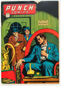 Punch Comics #14 (Chesler, 1945) Condition: VG/FN