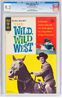 Wild, Wild West #5 File Copy (Gold Key, 1969) CGC NM- 9.2 Off-white to white pages