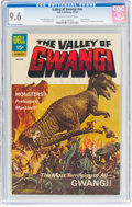 Silver Age (1956-1969):Horror, Movie Classics: Valley of Gwangi (Dell, 1969) CGC NM+ 9.6 Off-white to white pages....