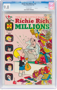 Richie Rich Millions #34 File Copy (Harvey, 1969) CGC NM/MT 9.8 Off-white pages