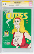 Bronze Age (1970-1979):Alternative/Underground, Turned On Cuties #nn (#1) Signature Series (Golden Gate, 1972) CGC FN+ 6.5 Off-white pages....