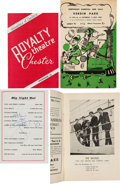 """Music Memorabilia:Memorabilia, Beatles Northwich Carnival and Gala """"Crowning of the Carnival Queenby The Beatles"""" Official Program and Royalty Theatre, Ches..."""