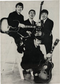 Music Memorabilia:Memorabilia, Beatles Sweden Stockholm Johanneshovs Isstadion Concert Program (Sweden, July 28-29, 1964)....