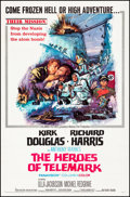 """Movie Posters:War, The Heroes of Telemark & Other Lot (Columbia, 1966) Folded,Very Fine-. One Sheets (2) (27"""" X 41""""). War.. ... (Total: 2 Items)"""