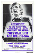 "Movie Posters:Action, The Mechanic (United Artists, 1972). Folded, Very Fine-. One Sheet (27"" X 41"") Style A. Action.. ..."