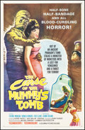 "Movie Posters:Horror, The Curse of the Mummy's Tomb (Columbia, 1964). Folded, Very Fine-.One Sheet (27"" X 41""). Horror.. ..."