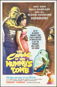 "The Curse of the Mummy's Tomb (Columbia, 1964). Folded, Very Fine-. One Sheet (27"" X 41""). Horror"