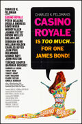 "Movie Posters:James Bond, Casino Royale (Columbia, 1967). Folded, Very Fine. One Sheet (27"" X41""). Robert McGinnis Artwork. James Bond.. ..."