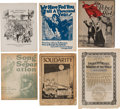 Political:Small Paper (1896-present), Industrial Workers of the World [I.W.W.]: Sheet Music and More....