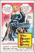 "Movie Posters:Comedy, The Monte Carlo Story (United Artists, 1957) Folded, Very Fine-. One Sheet (27"" X 41""). Comedy.. ..."