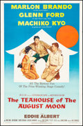 """Movie Posters:Comedy, The Teahouse of the August Moon (MGM, 1956) Folded, Very Fine-. One Sheet (27"""" X 41""""). Comedy.. ..."""