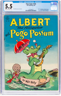 Four Color #105 Albert the Alligator and Pogo Possum (Dell, 1946) CGC FN- 5.5 Cream to off-white pages