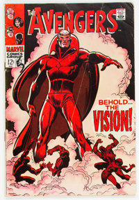 The Avengers #57 (Marvel, 1968) Condition: GD+