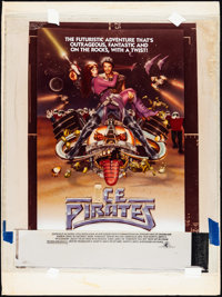 """The Ice Pirates (MGM/UA, 1984) Fine/Very Fine. Poster Concept Mockup (20.25"""" X 27.25""""). Science Fiction"""