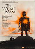 """Movie Posters:Horror, The Wicker Man (Lion International, 1973). Folded, Very Fine. British One Sheet (27"""" X 40"""") & Uncut Pressbook (8 Pages, 11"""" ... (Total: 2 Items)"""