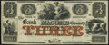 Obsoletes By State:Michigan, Mt. Clemens, MI- Bank of Macomb County $3 Apr. 1, 1858 Remainder Very Fine-Extremely Fine.. ...