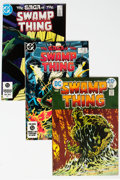 Bronze Age (1970-1979):Horror, Swamp Thing Group of 37 (DC, 1973-95) Condition: Average FN/VF....(Total: 37 )