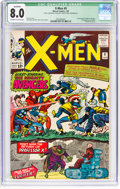Silver Age (1956-1969):Superhero, X-Men #9 (Marvel, 1965) CGC Qualified VF 8.0 Off-white to white pages....