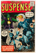 Silver Age (1956-1969):Science Fiction, Tales of Suspense #1 (Marvel, 1959) Condition: VG-....