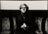 Norman Seeff (South African, b. 1939) Andy Warhol, 1969 Gelatin silver 12-7/8 x 18-5/8 inches (32