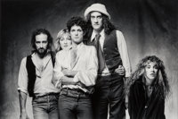 Norman Seeff (South African, b. 1939) Fleetwood Mac, 1978 Gelatin silver 10-5/8 x 15-3/4 inches (