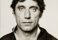Photographs:Gelatin Silver, Norman Seeff (South African, b. 1939). Joe Namath, 1977. Gelatin silver. 13 x 19 inches (33.0 x 48.3 cm). Signed in ink ...