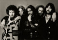 Photographs:Gelatin Silver, Norman Seeff (South African, b. 1939). The Eagles, 1976. Gelatin silver. 13-1/2 x 19-3/8 inches (34.3 x 49.2 cm). Signed...