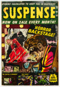 Golden Age (1938-1955):Horror, Suspense #16 (Atlas, 1952) Condition: VG/FN....
